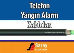 Klas Kablo Telefon Yangın Alarm Kabloları