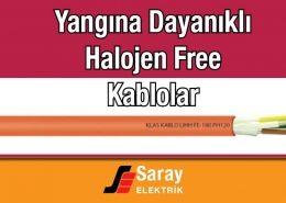 Klas Kablo Yangına Dayanıklı Kablolar Halojen Free Kablolar