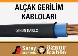Öznur Kablo Alçak Gerilim Kabloları