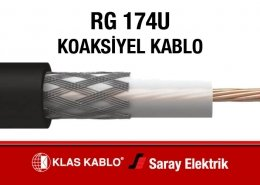 Klas Kablo RG 174U Koaksiyel