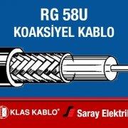 Klas Kablo RG 58U Koaksiyel