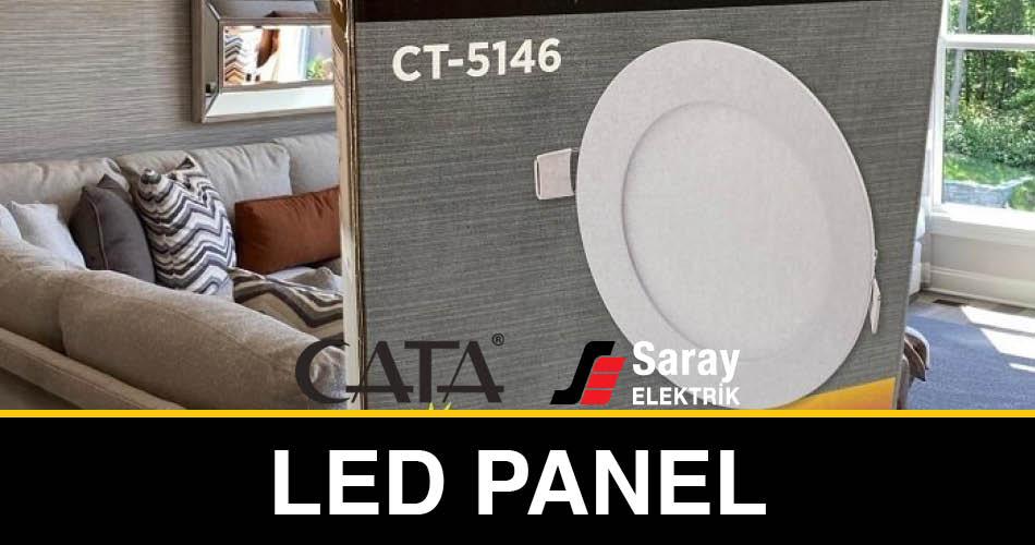 Saray Elektrik Cata Led Panel Ürünleri