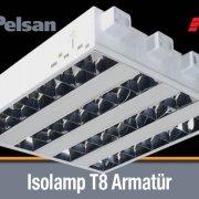 Pelsan Isolamp T8 Armatür