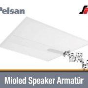Pelsan Mioled Speaker Led Panel Armatür