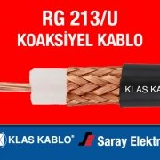Klas Kablo RG 213U Koaksiyel Kablo