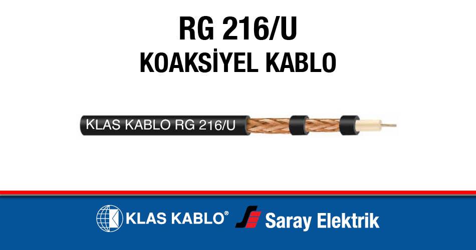 Klas RG 216U Koaksiyel Kablo